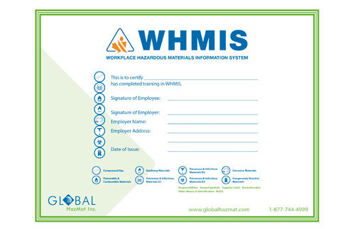 Image Gallery Whmis Certificate